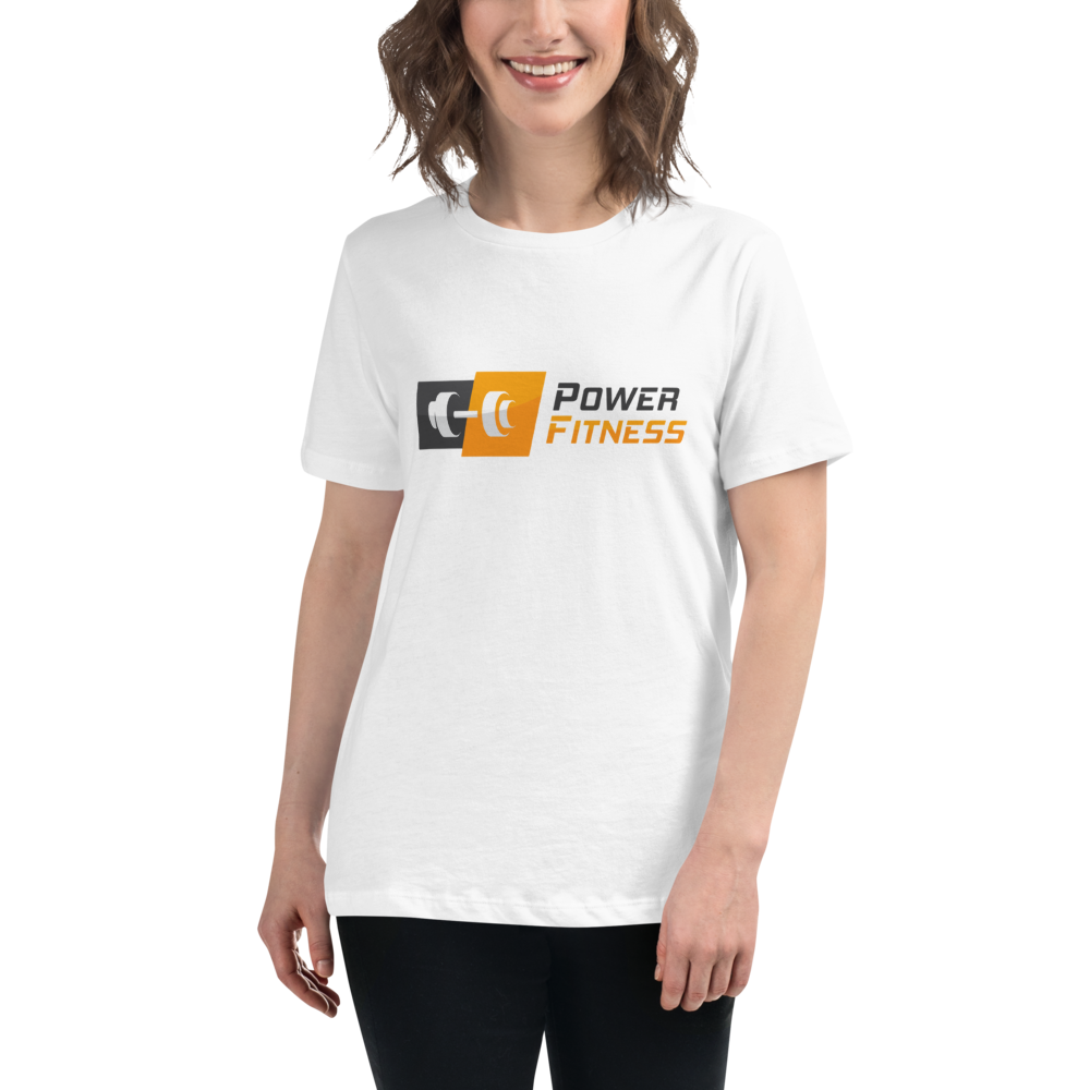 Power Fitness - Women's Relaxed T-Shirt | Bella + Canvas 6400
