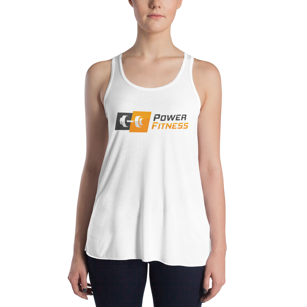 Power Fitness - Women's Flowy Racerback Tank | Bella + Canvas 8800