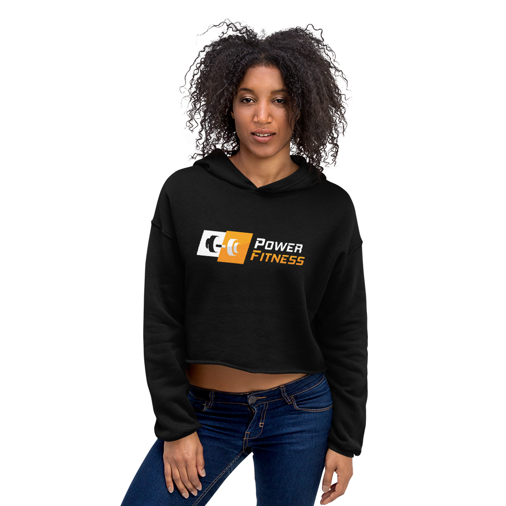 Power Fitness - Women's Cropped Hoodie | Bella + Canvas 7502