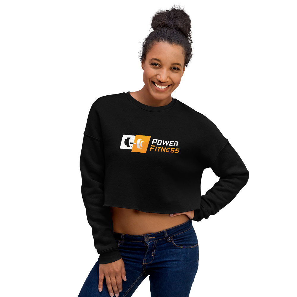 Power Fitness - Women's Cropped Sweatshirt | Bella + Canvas 7503
