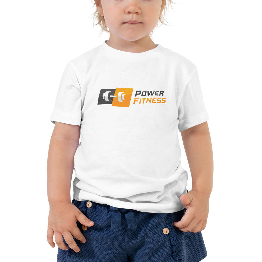 Power Fitness - Toddler Premium Tee | Bella + Canvas 3001T