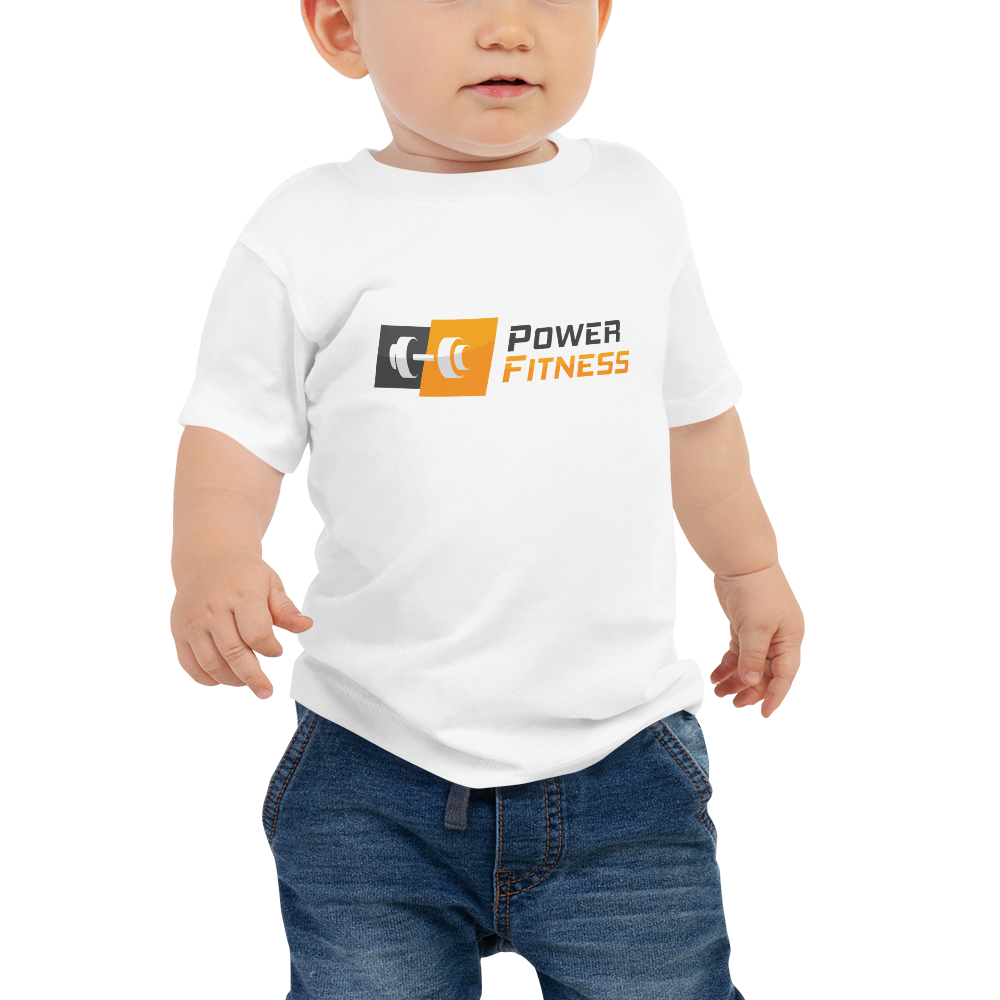 Power Fitness - Baby Premium Tee | Bella + Canvas 3001B