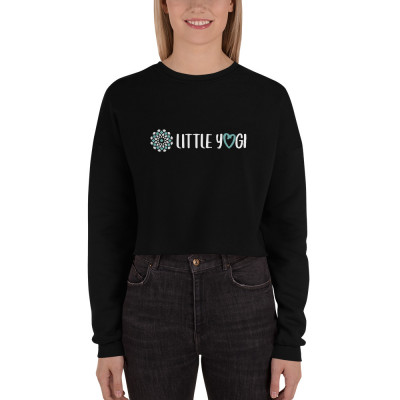 Little Yogi - Crop Sweatshirt