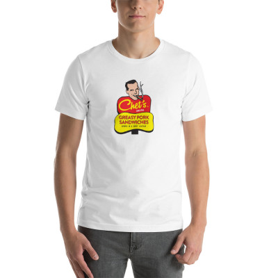 Chet Short-Sleeve Unisex T-Shirt