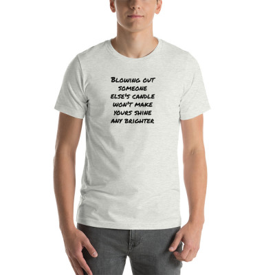 Candles Short-Sleeve Unisex T-Shirt