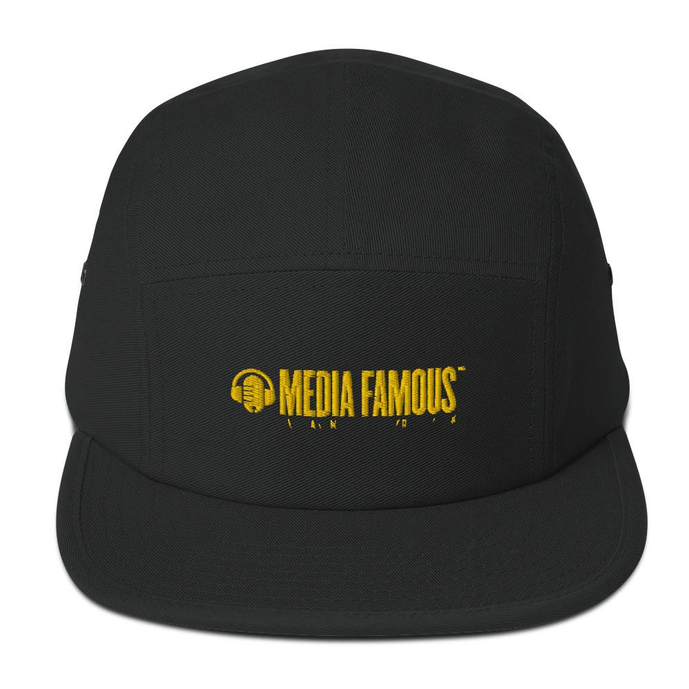 6.  Media Famous Camper Hat