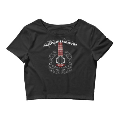Nathan Osmond Guitar - Women's Crop Tee