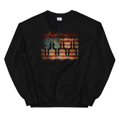 Nathan Osmond American Guitar - Unisex Sweatshirt