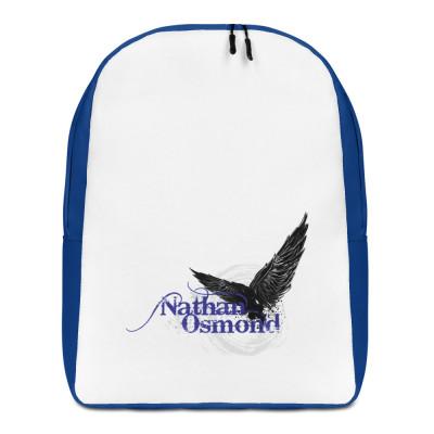 Nathan Osmond Blue Logo - Minimalist Backpack