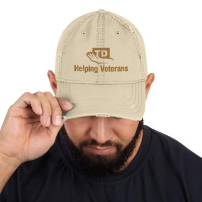 TDF Helping Veterans Distressed Cap