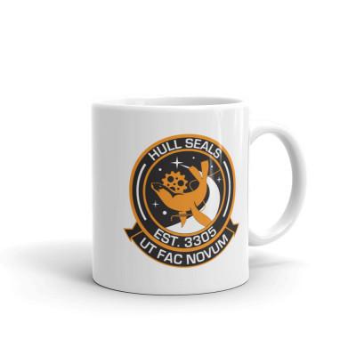 Hull Seals Roundel Mug (Light Orange Livery)