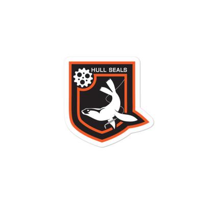 Hull Seals Shield Bubble-free stickers