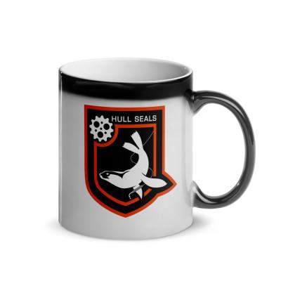 Hull Seals Heat Activated Shield Mug
