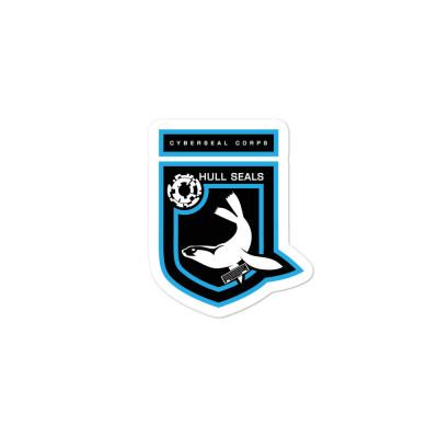 Hull Seals Cyberseal Shield Bubble-free stickers