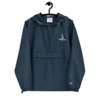 Hull Seals Embroidered Champion Packable Jacket