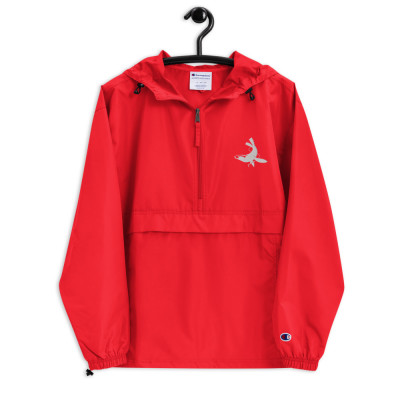 Hull Seals Code Red Embroidered Champion Packable Jacket