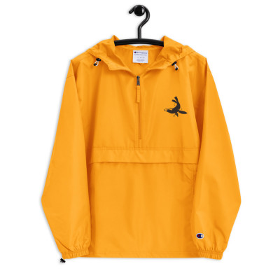 Hull Seals Code Amber Embroidered Champion Packable Jacket