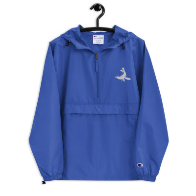 Hull Seals Code Blue Embroidered Champion Packable Jacket
