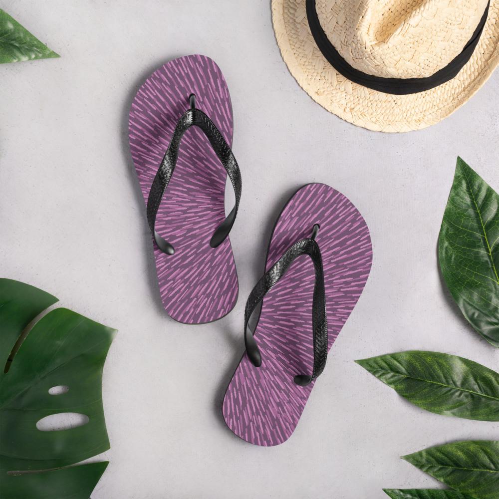 Purple Flip-Flops