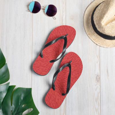 Red Flip-Flops