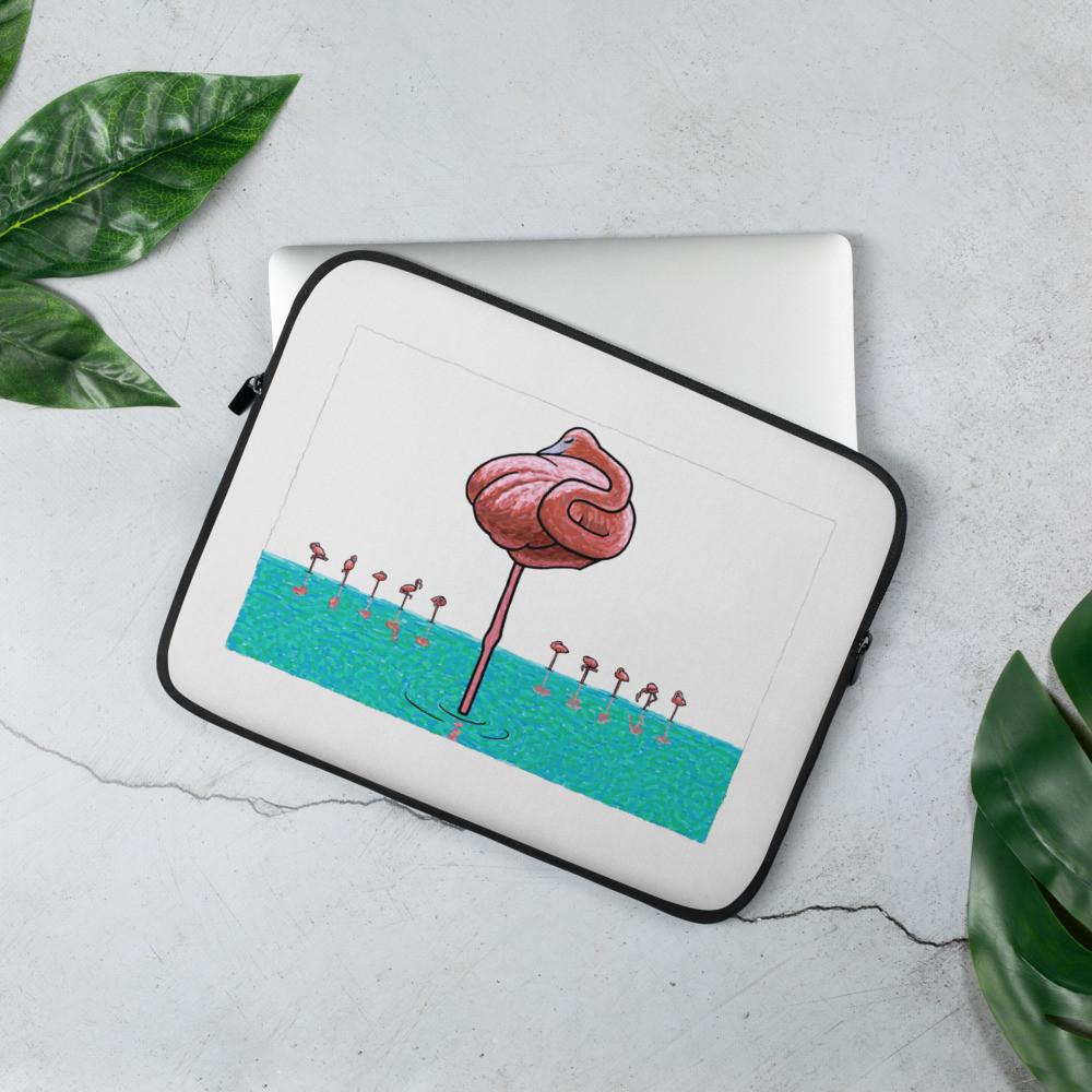 Laptop Sleeve - Flamingo