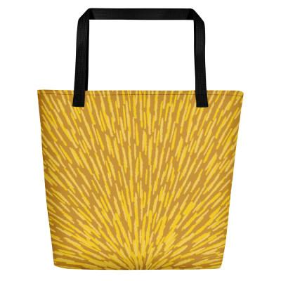 Yellow Beach Bag