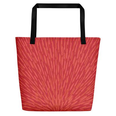 Red Beach Bag