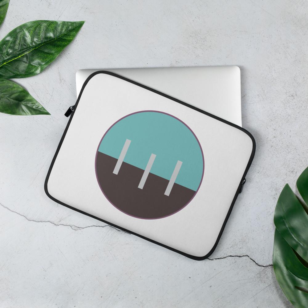 Laptop Sleeve - Paka Project Logo