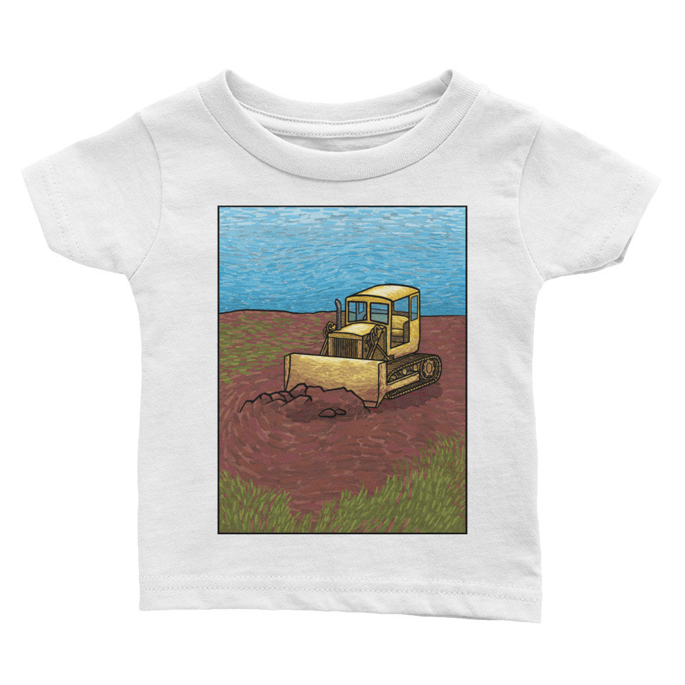 Bulldozer Infant Tee
