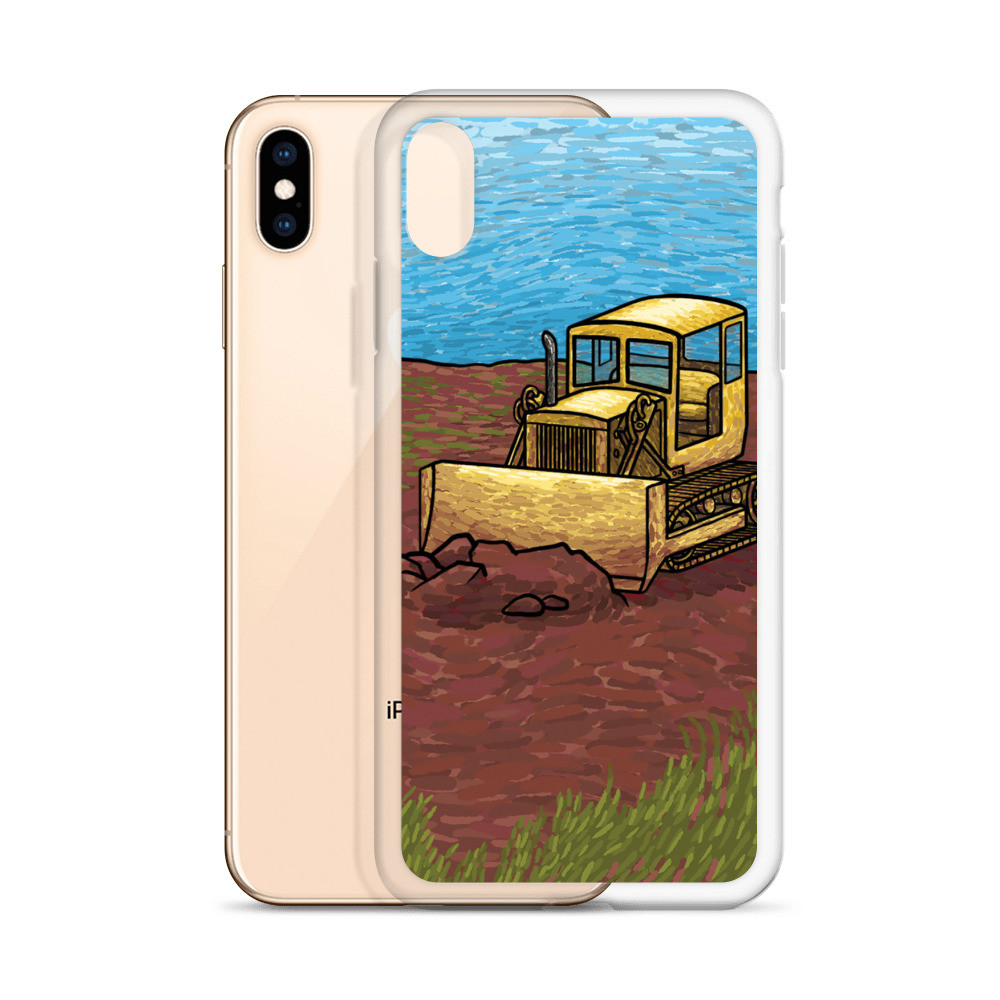 Bulldozer iPhone Case