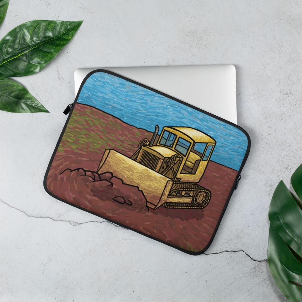 Bulldozer Laptop Sleeve