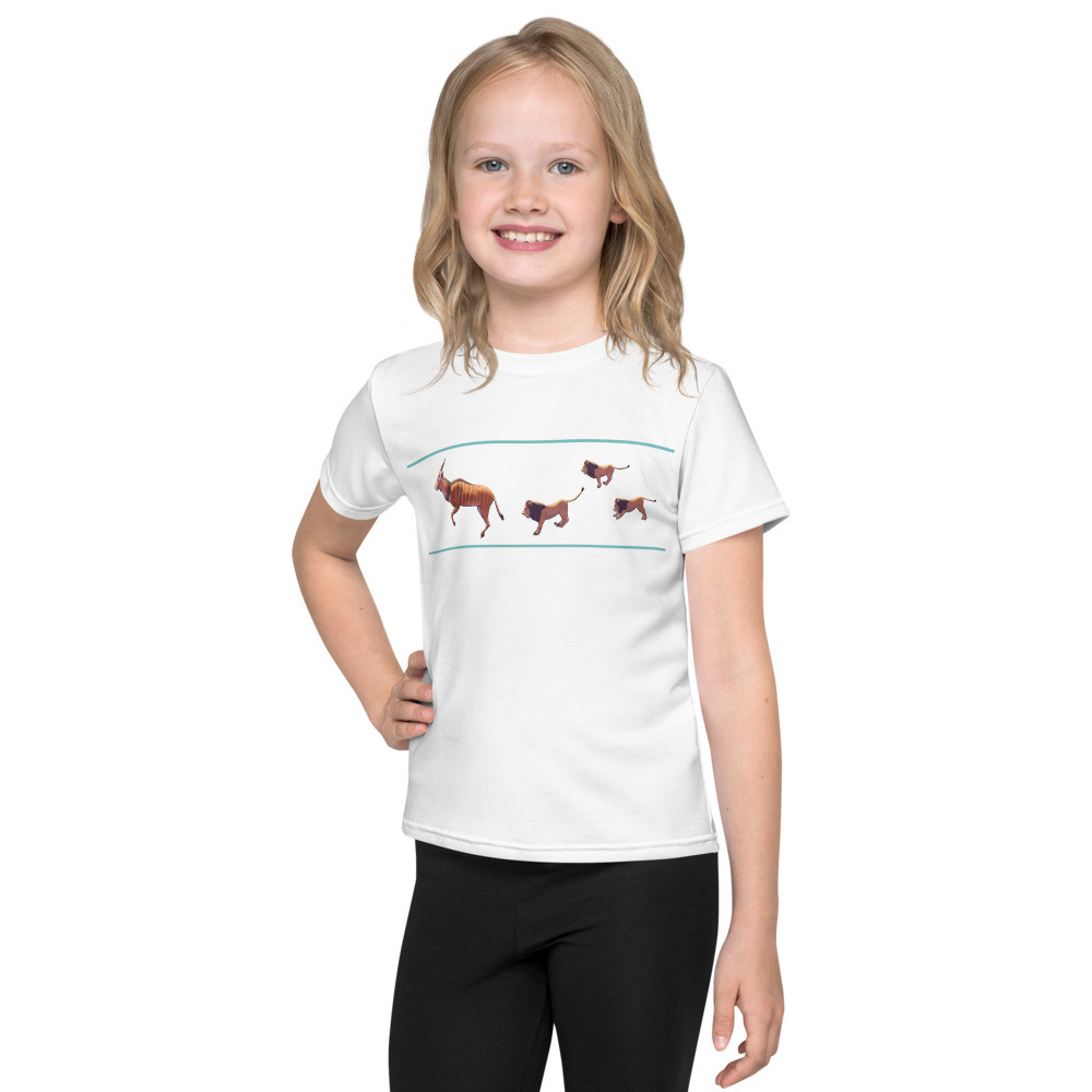 Giant Eland - Lions Kids T-Shirt