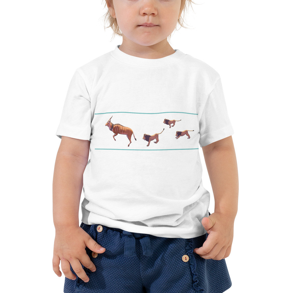 Giant Eland - Lions Toddler Short Sleeve Tee