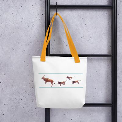 Gaint Eland - Lions Tote bag