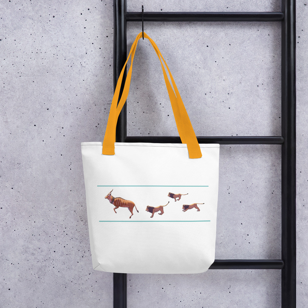 Gaint Eland - Lions Tote bag