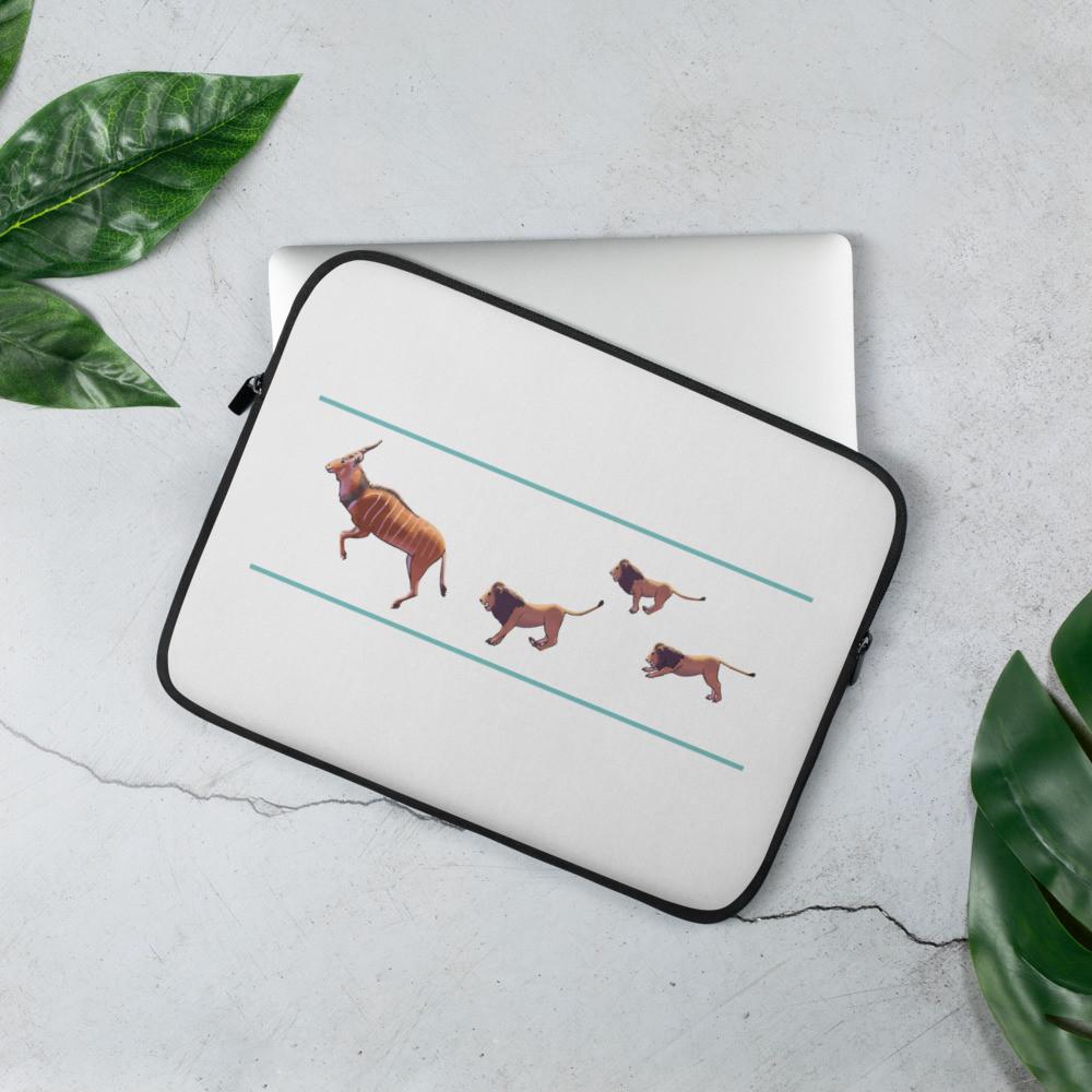 Giant Eland - Lions Laptop Sleeve