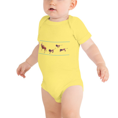 Giant Eland - Lions 100B Baby Jersey Short Sleeve One Piece