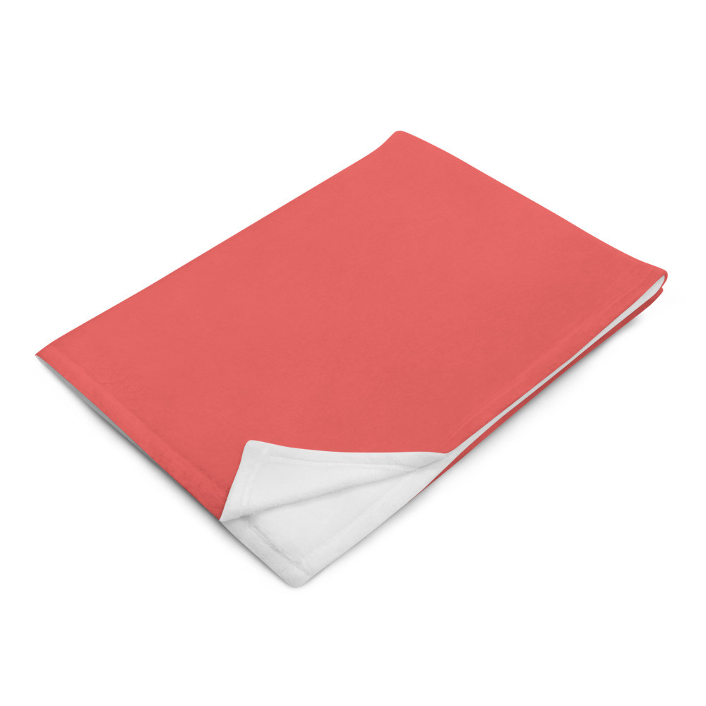 Red (Lt) Throw Blanket