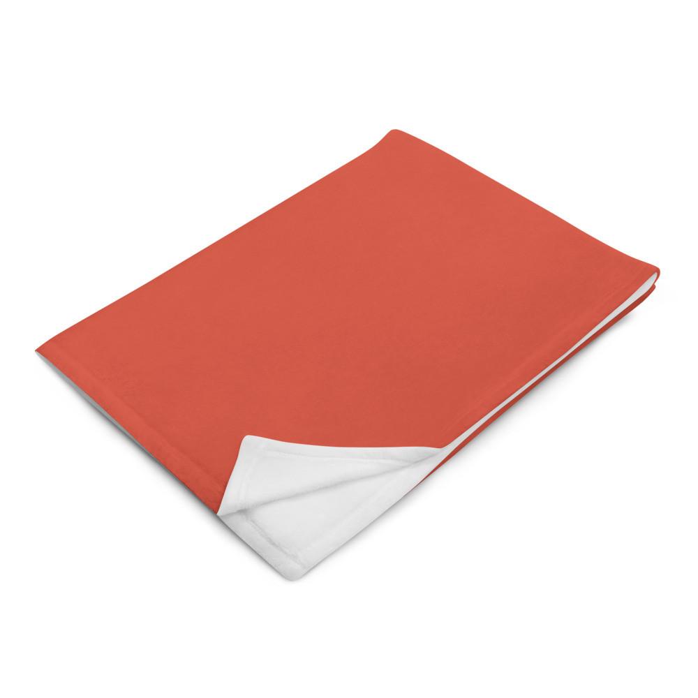 Red (med) Throw Blanket