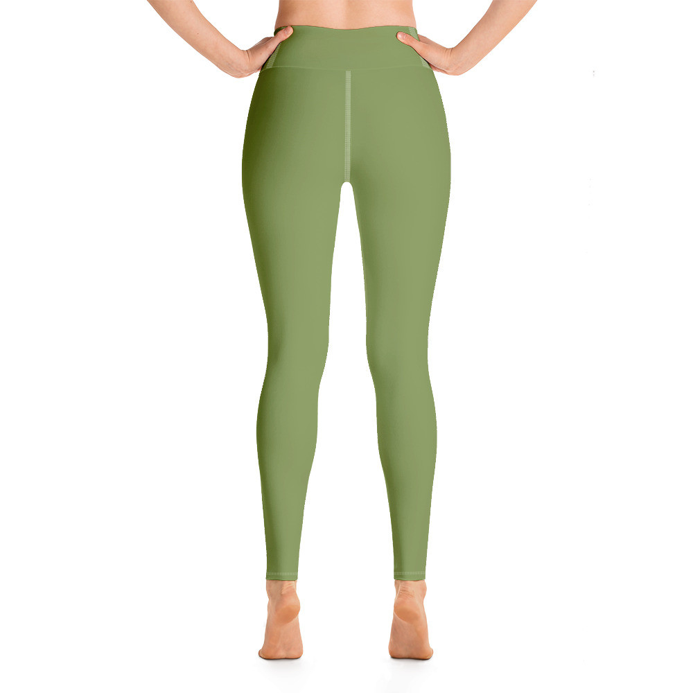 Green Yoga Leggings