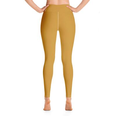 Yellow Yoga Leggings