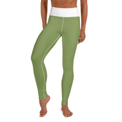 Green Yoga Leggings