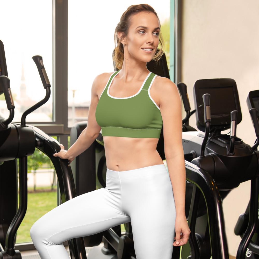 Green Sports bra