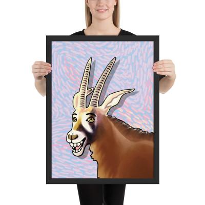 Framed poster (Antelope)