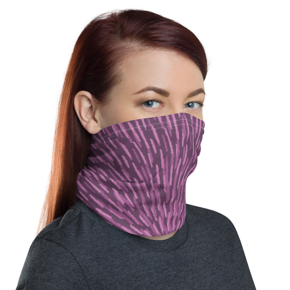 Neck Gaiter - Purple Burst