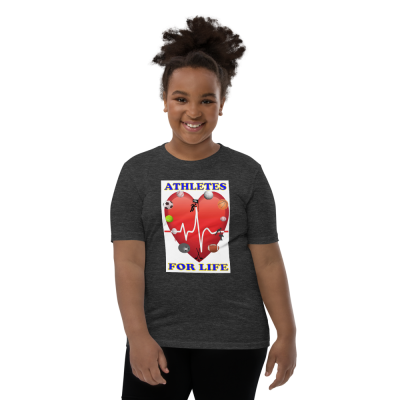 Athletes For Life - Youth Short Sleeve T-Shirt - For Boys & For Girls