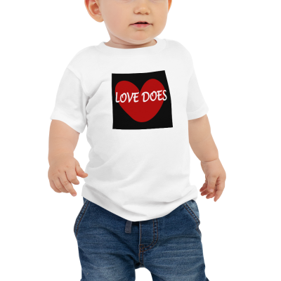 Love Does - Baby Jersey Short Sleeve Tee - For Boys & For Girls