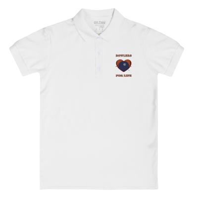 Bowlers For Life - Embroidered Women's Polo Shirt