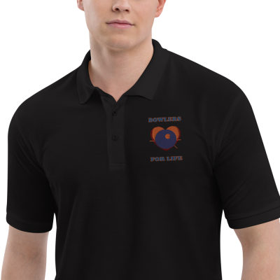 Bowlers For Life - Men's Premium Polo