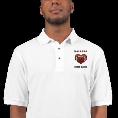 Ballers For Life - Men's Premium Polo